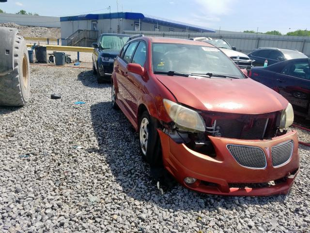 Pontiac Vibe salvage cars for sale: 2006 Pontiac Vibe