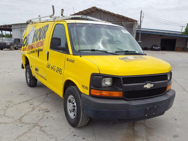 Salvage cars for sale from Copart Corpus Christi, TX: 2013 Chevrolet Express G2