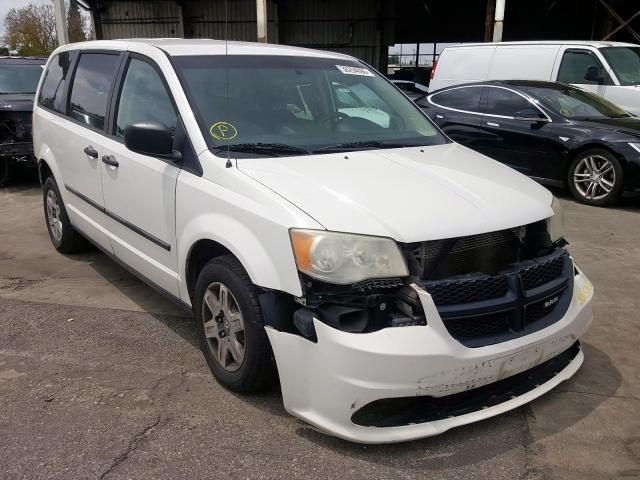 Dodge RAM Van salvage cars for sale: 2012 Dodge RAM Van
