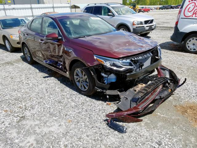 Salvage cars for sale from Copart Spartanburg, SC: 2020 KIA Optima LX