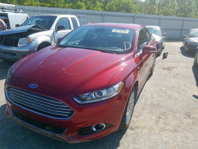 2014 FORD FUSION TIT - Left Front View