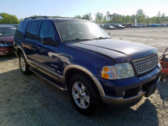 Salvage cars for sale from Copart Spartanburg, SC: 2004 Ford Explorer E