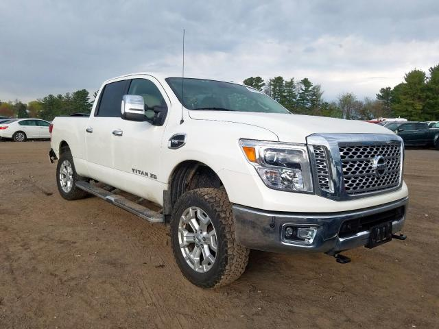 Nissan Titan XD S salvage cars for sale: 2018 Nissan Titan XD S