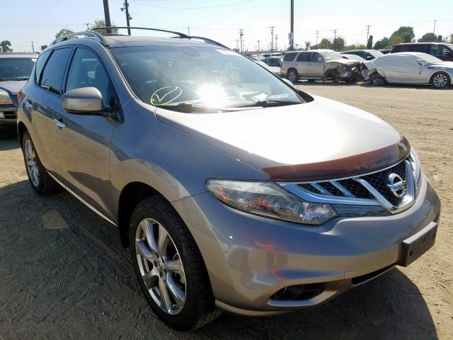 Nissan Murano S salvage cars for sale: 2012 Nissan Murano S