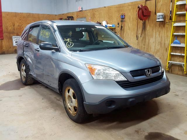 Salvage cars for sale from Copart Kincheloe, MI: 2009 Honda CR-V LX