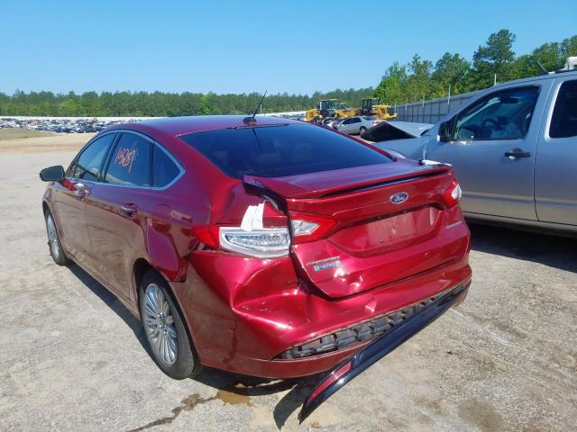 2014 FORD FUSION TIT - Right Front View