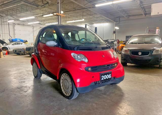 Salvage cars for sale from Copart London, ON: 2006 Smart Fortwo
