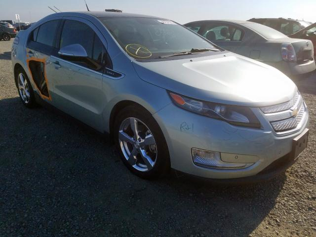 2012 Chevrolet Volt Photos Ca Antelope Salvage Car Auction