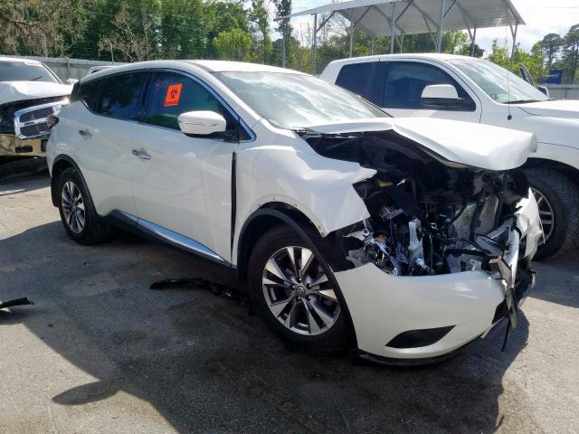 Nissan Murano S salvage cars for sale: 2015 Nissan Murano S