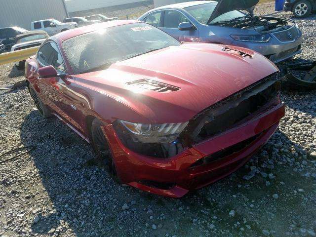 Ford Mustang GT salvage cars for sale: 2015 Ford Mustang GT