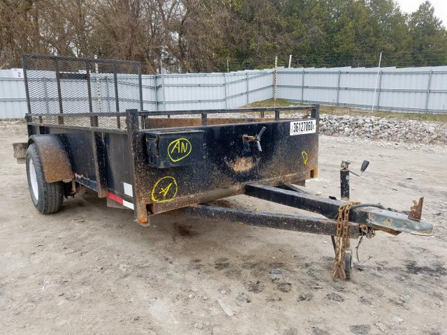 Salvage cars for sale from Copart London, ON: 2000 Trailers Trailer