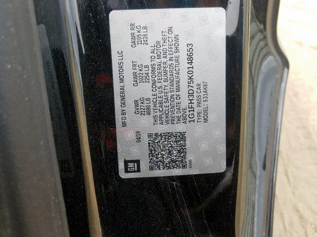 2019 Chevrolet CAMARO | Vin: 1G1FH3D75K0148653
