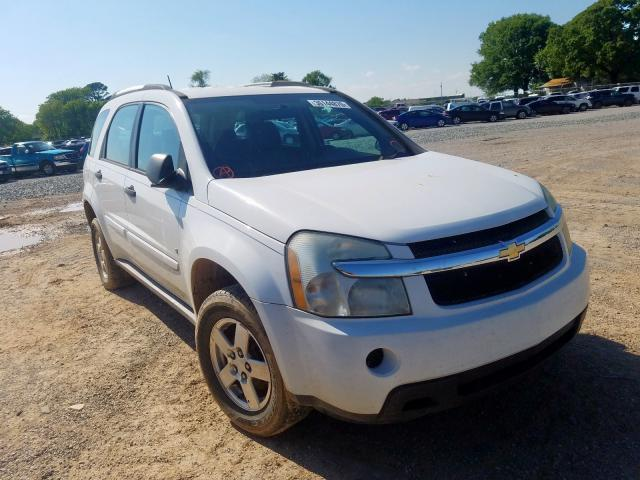 Chevrolet Equinox LS salvage cars for sale: 2007 Chevrolet Equinox LS