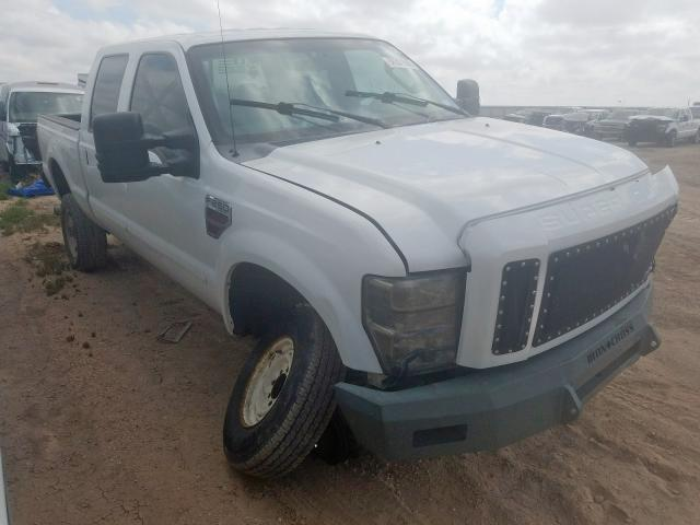 Salvage cars for sale from Copart Amarillo, TX: 2008 Ford F250 Super