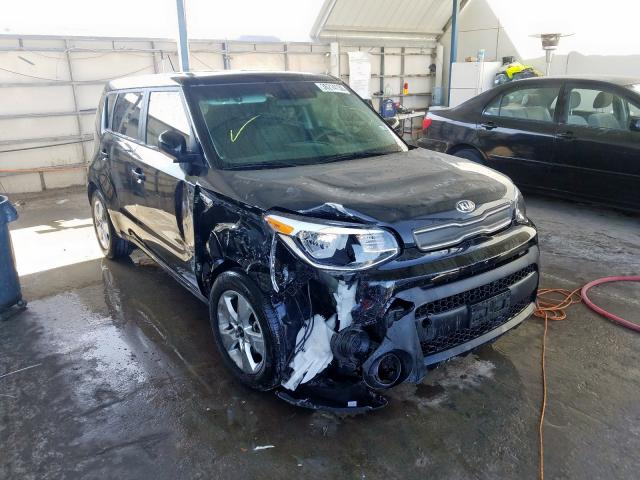 Salvage cars for sale from Copart Anthony, TX: 2019 KIA Soul