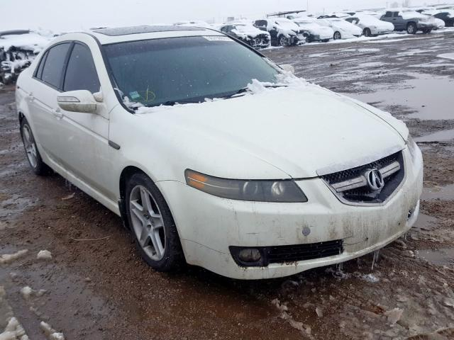 Acura salvage cars for sale: 2008 Acura TL