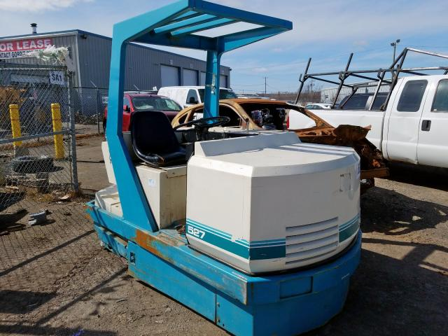 Tennant salvage cars for sale: 2007 Tennant Sweeper