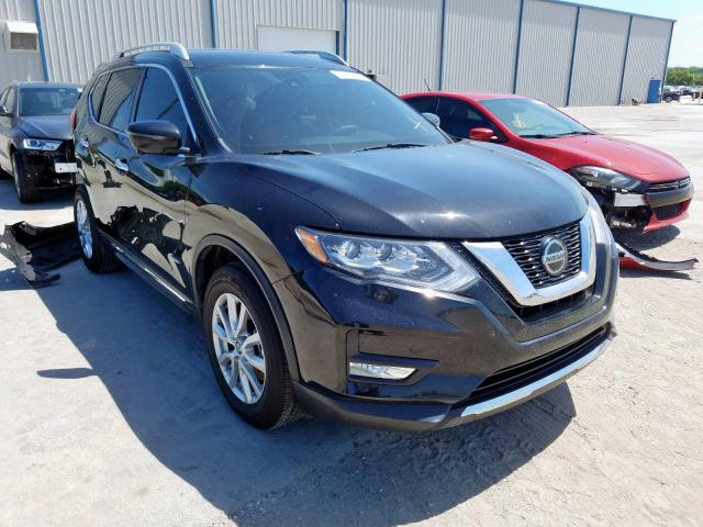 Nissan Rogue SV H salvage cars for sale: 2019 Nissan Rogue SV H