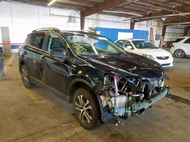 Toyota salvage cars for sale: 2017 Toyota Rav4 LE