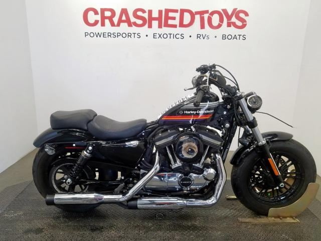 Harley-Davidson XL1200 XS salvage cars for sale: 2018 Harley-Davidson XL1200 XS