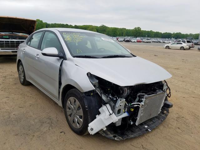KIA Rio S salvage cars for sale: 2019 KIA Rio S