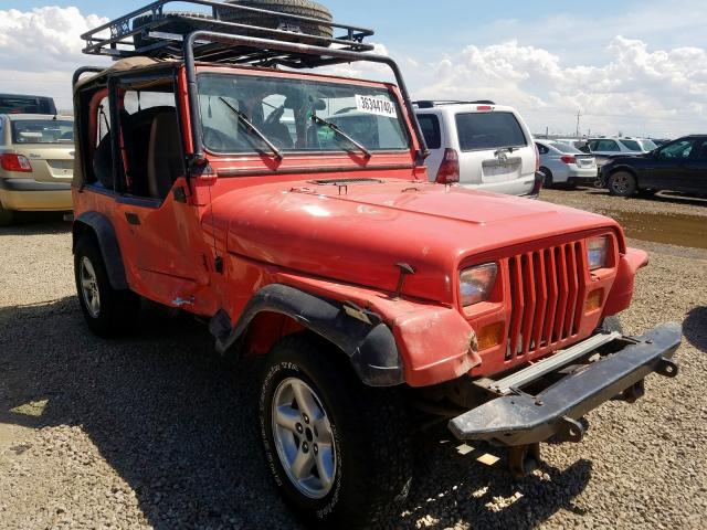 Jeep Wrangler salvage cars for sale: 1995 Jeep Wrangler