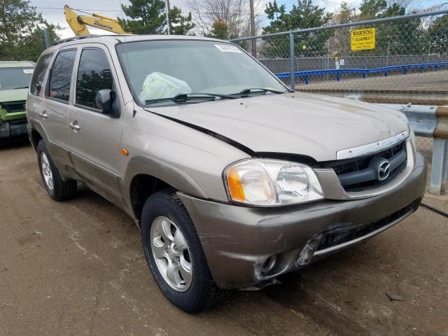 Mazda Tribute LX salvage cars for sale: 2001 Mazda Tribute LX