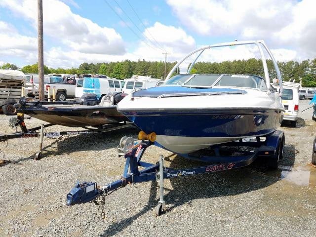 1995 CROW BOAT/TRLR - Left Front View