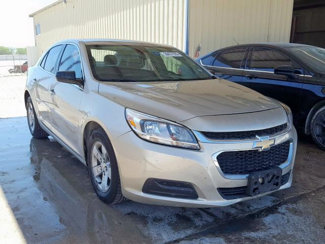 Salvage cars for sale from Copart San Antonio, TX: 2015 Chevrolet Malibu LS