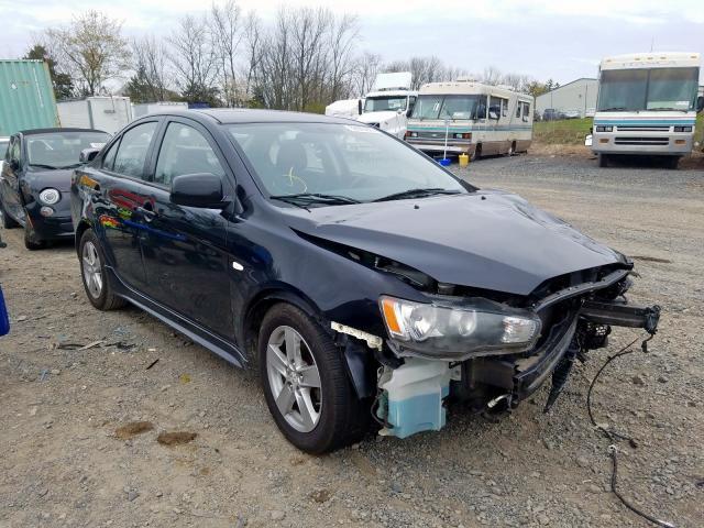 Vehiculos salvage en venta de Copart Pennsburg, PA: 2009 Mitsubishi Lancer ES