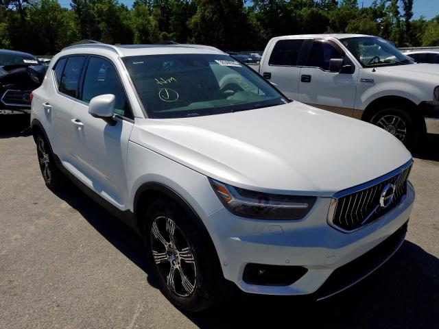 Volvo salvage cars for sale: 2019 Volvo XC40 T5 IN