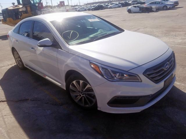 Salvage cars for sale from Copart Sun Valley, CA: 2016 Hyundai Sonata Sport