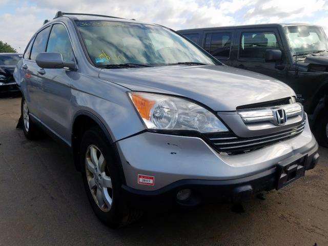Honda salvage cars for sale: 2007 Honda CR-V EXL