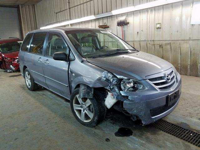 Salvage cars for sale from Copart Fort Wayne, IN: 2005 Mazda MPV Wagon