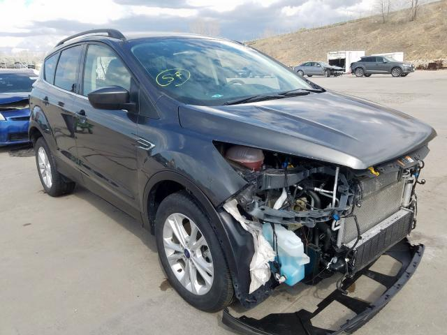 Ford Escape SE salvage cars for sale: 2018 Ford Escape SE