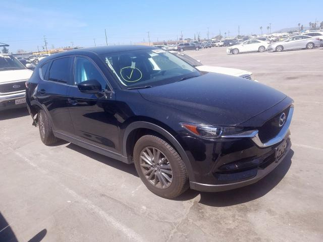 Mazda CX-5 Touring salvage cars for sale: 2017 Mazda CX-5 Touring