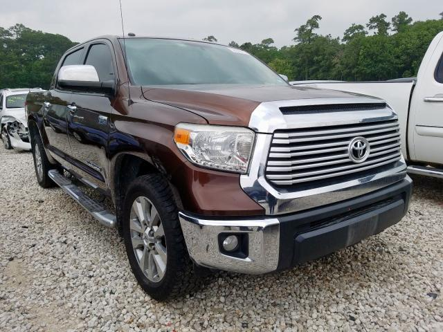 Toyota Tundra CRE salvage cars for sale: 2014 Toyota Tundra CRE