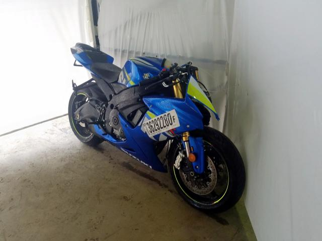 Salvage cars for sale from Copart Waldorf, MD: 2015 Suzuki GSX-R750