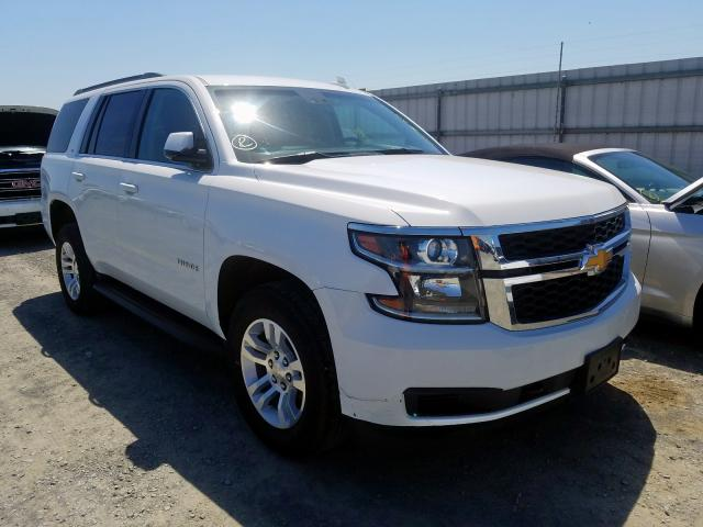 Chevrolet Tahoe C150 salvage cars for sale: 2018 Chevrolet Tahoe C150