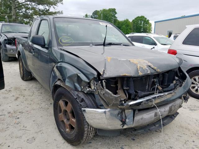 Salvage cars for sale from Copart Loganville, GA: 2005 Nissan Frontier K
