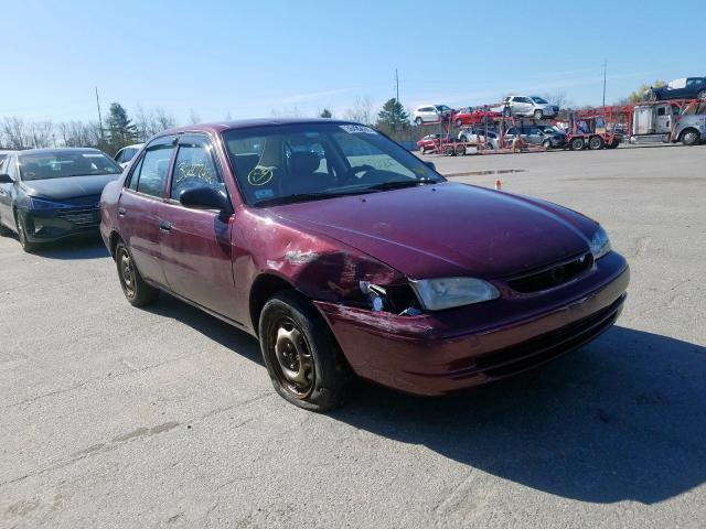 Salvage cars for sale from Copart North Billerica, MA: 1998 Toyota Corolla VE