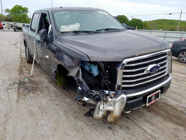 Salvage cars for sale at Lebanon, TN auction: 2015 Ford F150 Super