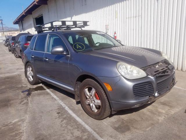 Salvage cars for sale from Copart Sun Valley, CA: 2004 Porsche Cayenne TU
