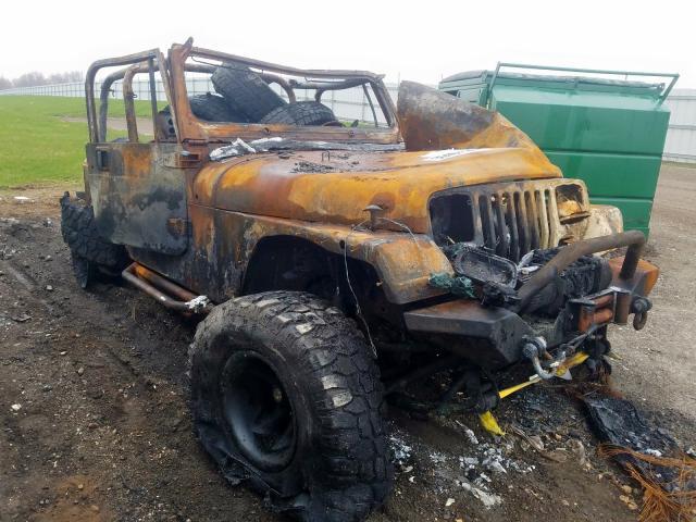 1993 Jeep Wrangler en venta en Portland, MI