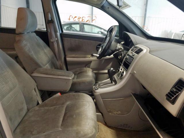 2005 CHEVROLET EQUINOX LS - Left Rear View
