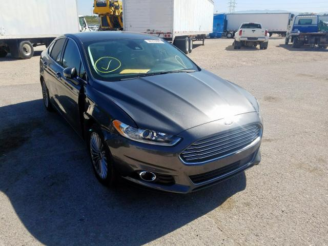 Ford salvage cars for sale: 2016 Ford Fusion Titanium