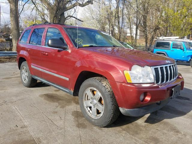 Salvage cars for sale from Copart Marlboro, NY: 2007 Jeep Grand Cherokee