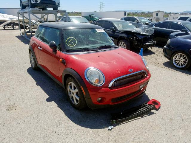 Mini Cooper salvage cars for sale: 2009 Mini Cooper