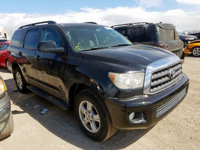 Toyota Sequoia SR salvage cars for sale: 2008 Toyota Sequoia SR