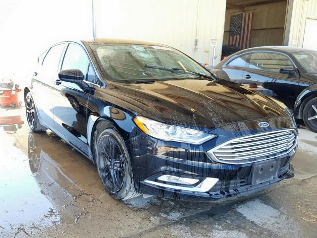 Ford Fusion S salvage cars for sale: 2018 Ford Fusion S